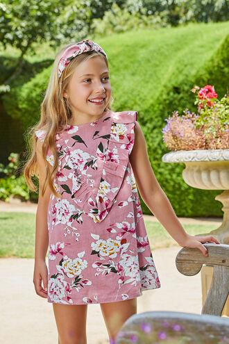 HILDE SHIFT DRESS in colour BRIDAL ROSE