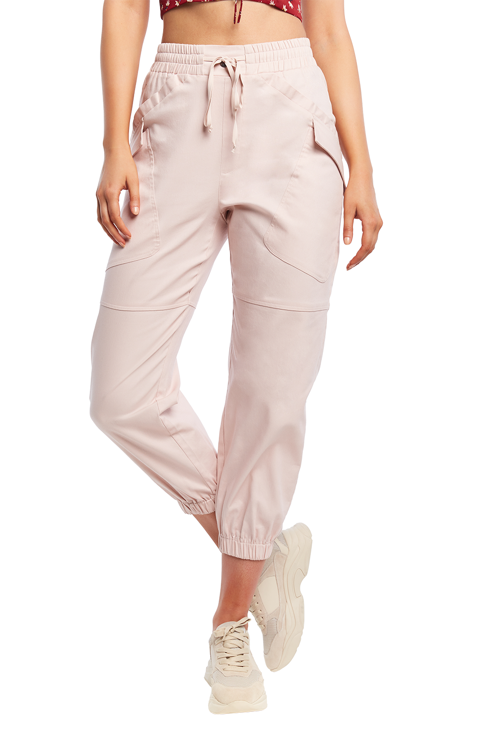 ADRIANA POCKET PANT in colour CRYSTAL GRAY