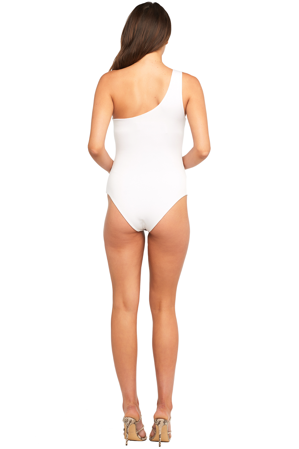MELANIE BODYSUIT in colour BRIGHT WHITE