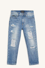 TRASH RELAXED JEAN in colour CITADEL
