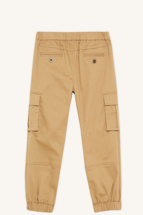 UTILITY CARGO PANT in colour TAN
