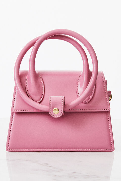 THE TESSA BAG in colour PARADISE PINK