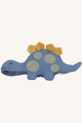 DADDY DINO SOFT TOY in colour BLUE BELL