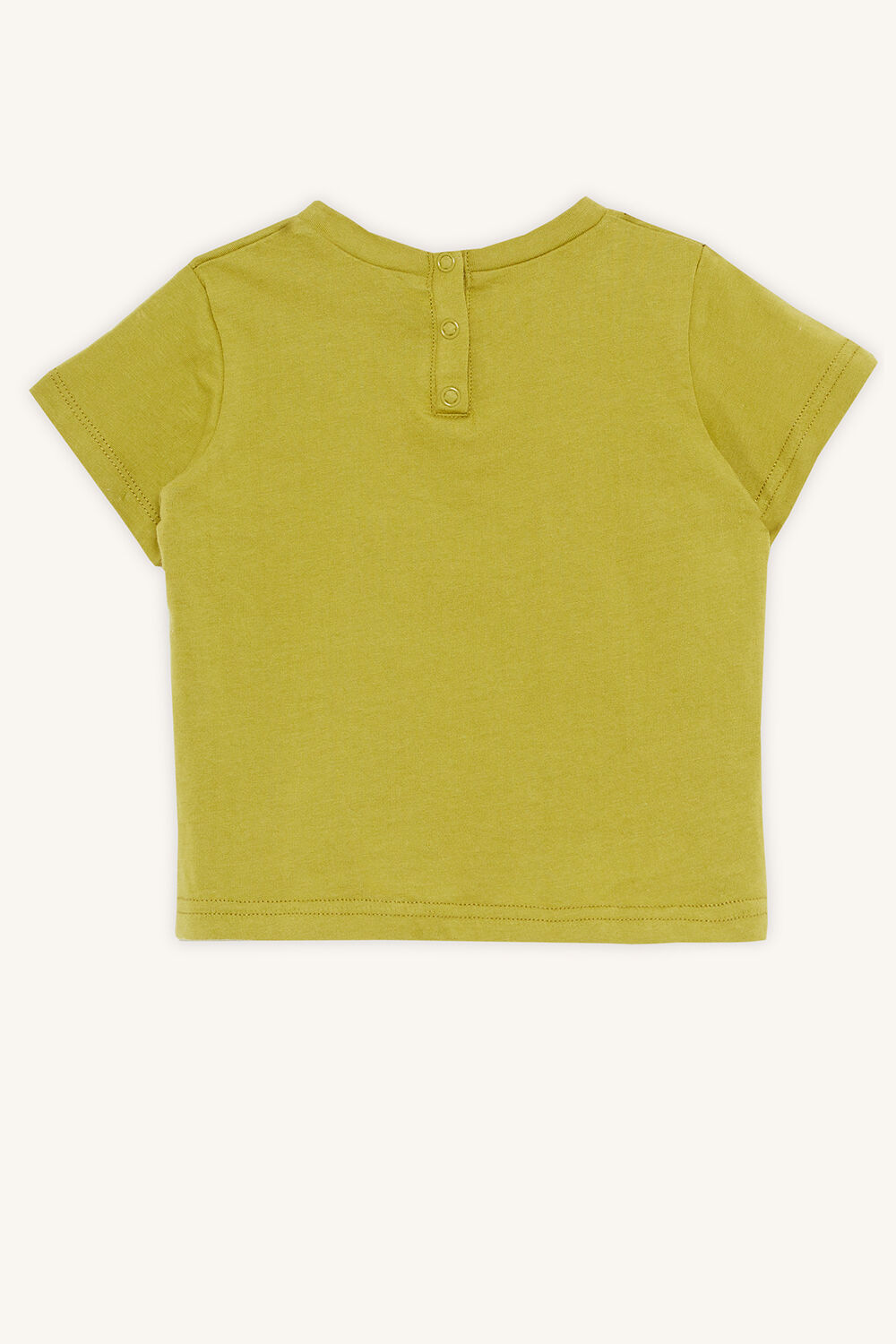 BABY BOY like a king tee in colour APPLE GREEN