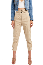 CARGO BELT PANT in colour MOONLIGHT