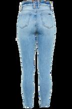 KHLOE HI CROP JEAN in colour NIGHTSHADOW BLUE