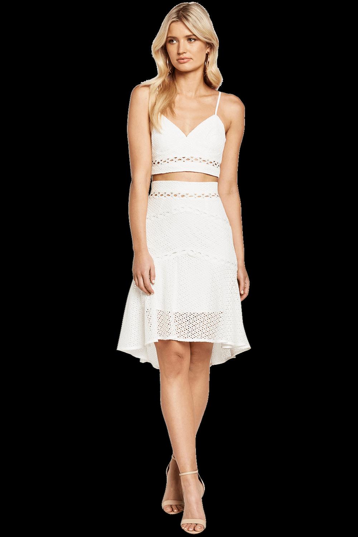 ARIANA BODICE TOP in colour BRIGHT WHITE