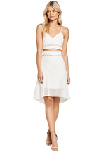 ARIANA BODICE TOP in colour BRIGHT WHITE