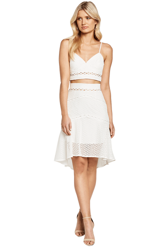 ARIANA BODICE in colour BRIGHT WHITE