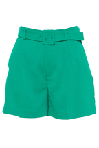 PARISIENNE SHORT in colour KELLY GREEN