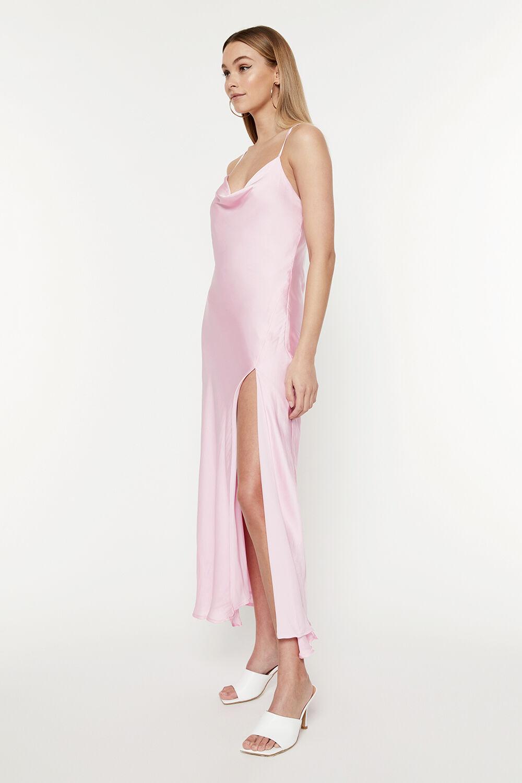 TUULA DRESS in colour PARFAIT PINK