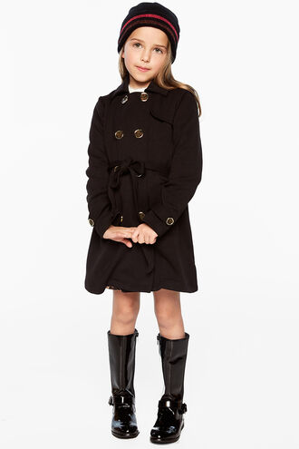 PONTI TRENCH in colour JET BLACK