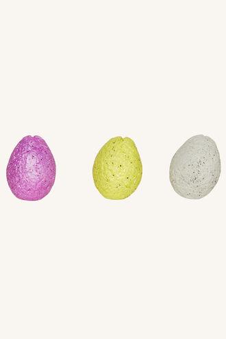 DINO SQUEEZE EGG in colour BRIGHT WHITE
