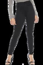 KHLOE SUPER HIGH TALL JEAN in colour CAVIAR