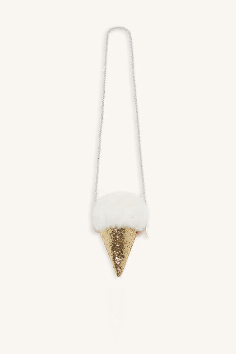 ICECREAM BAG in colour GOLD EARTH