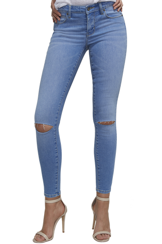 KATE HIPSTER JEAN in colour DREAM BLUE