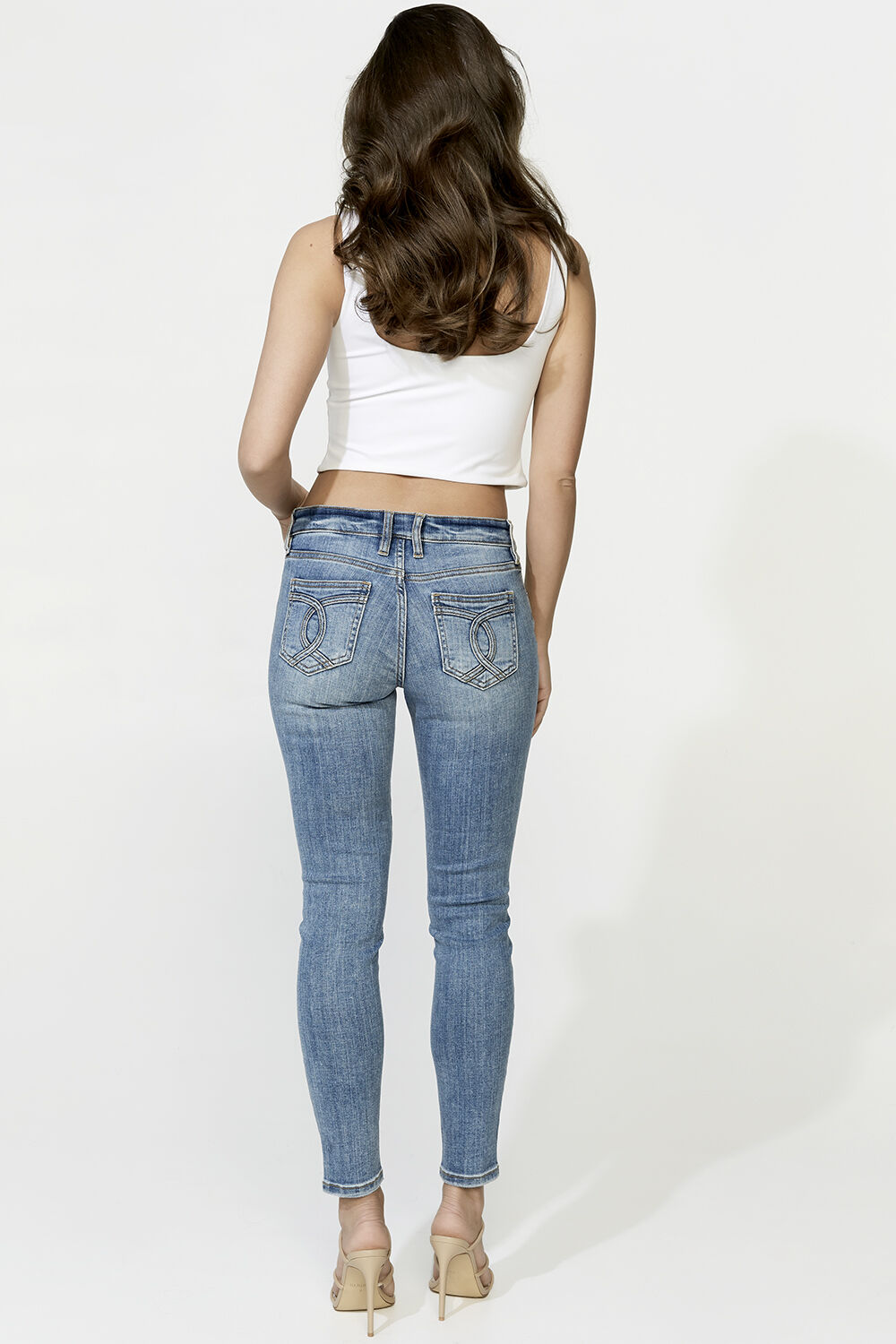 HAYLEY HIPSTER JEAN in colour CITADEL