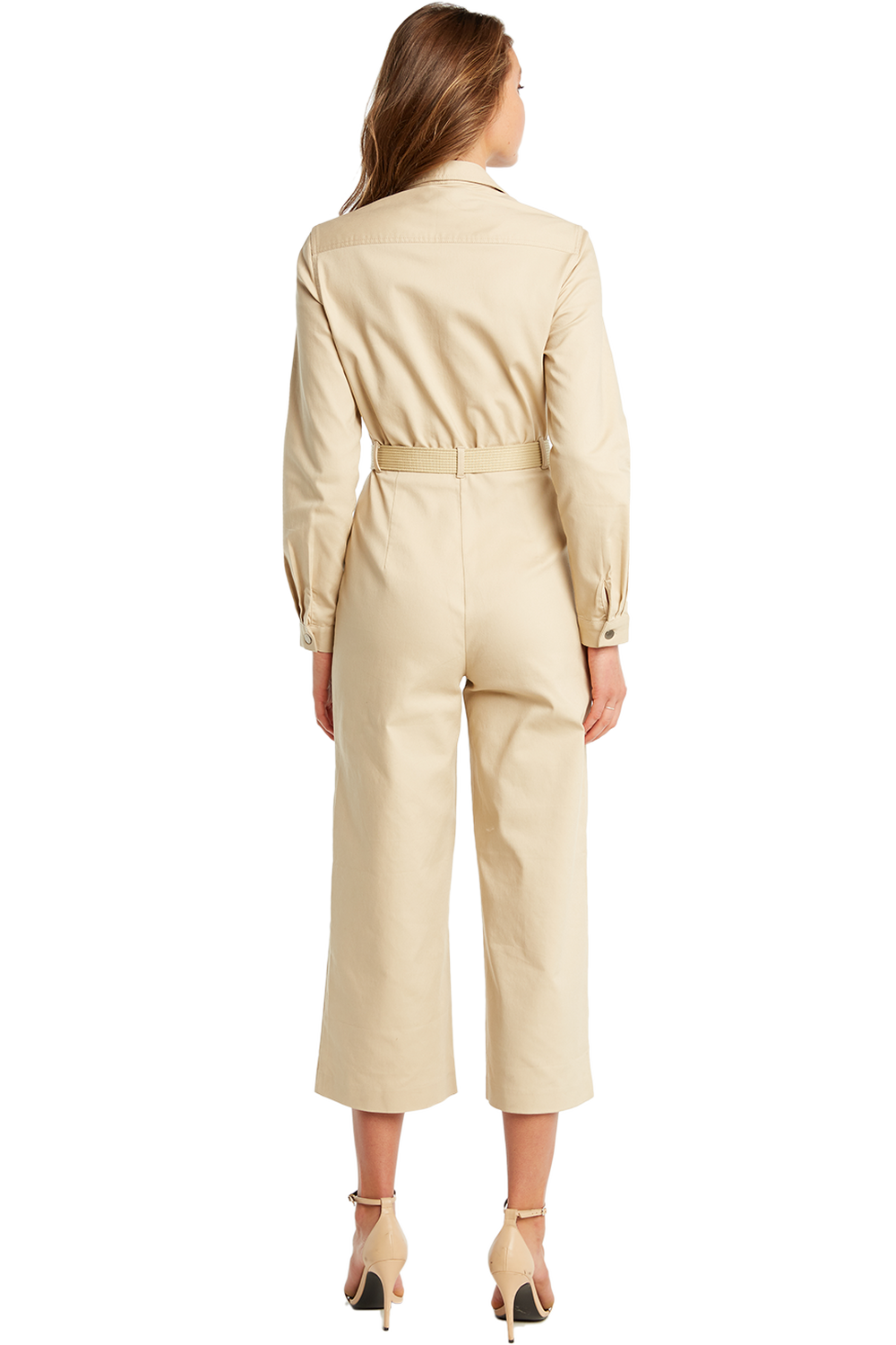 ARIANA WIDELEG JUMPSUIT in colour MOONLIGHT