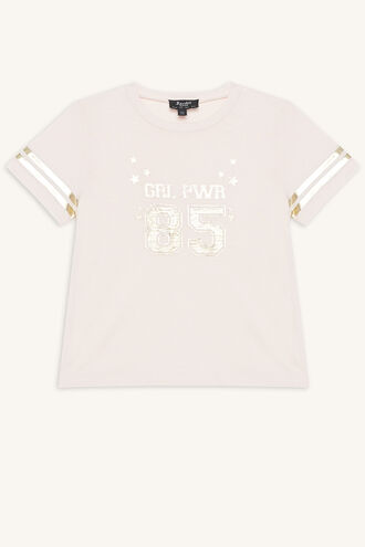 STAR GIRL TEE in colour CRYSTAL PINK