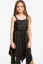 ADDY HANKY DRESS in colour JET BLACK