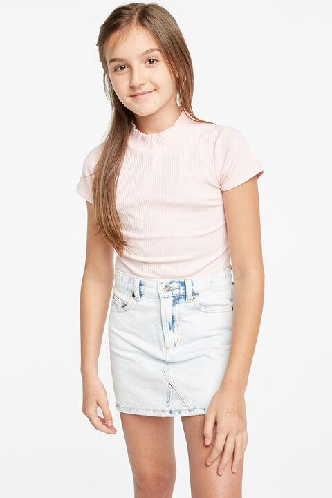 TWEEN GIRL CASSIDY BODYSUIT in colour SHRINKING VIOLET