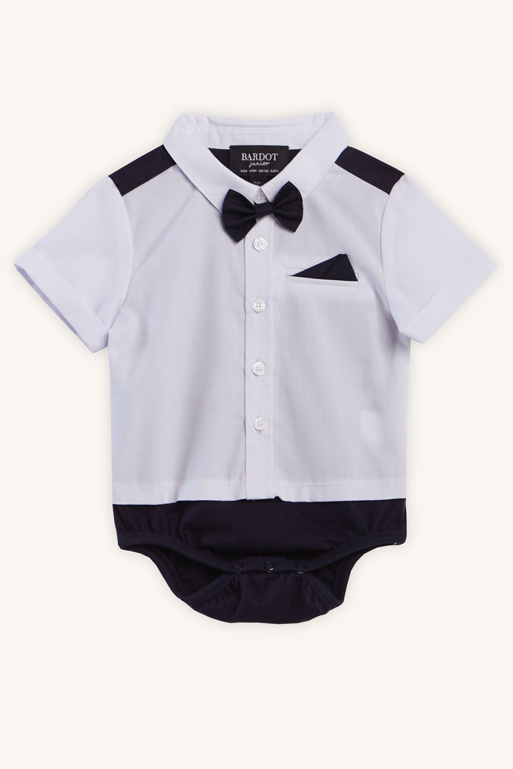 PREPPY SHIRT GROW in colour BRIGHT WHITE