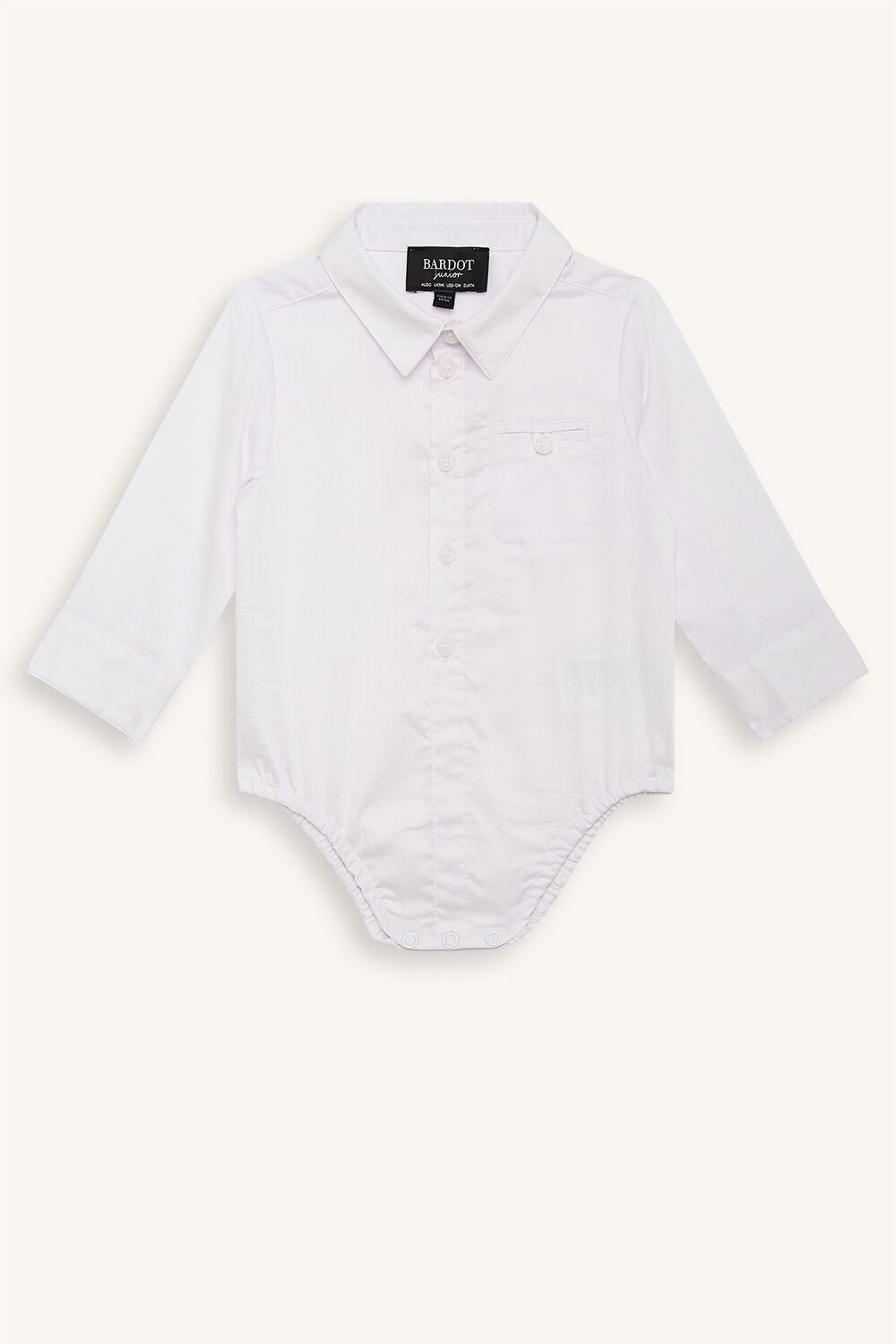 TEXTURED SHIRT GROW in colour BRIGHT WHITE