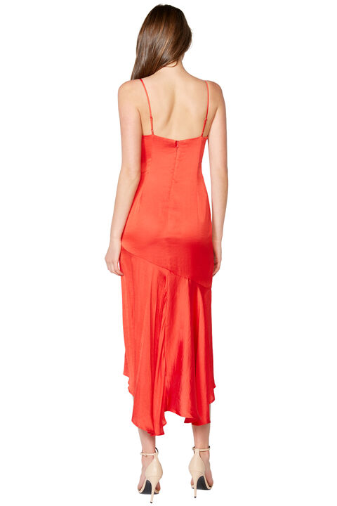 DEANNA SLIP DRESS in colour FIESTA