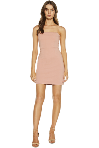 BIANCA PONTI DRESS in colour MISTY ROSE