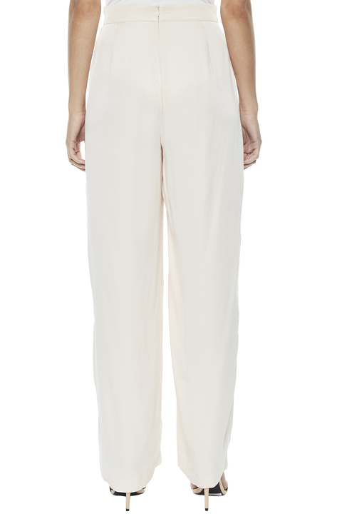 DRESSY SPLIT PANT in colour POWDER PUFF