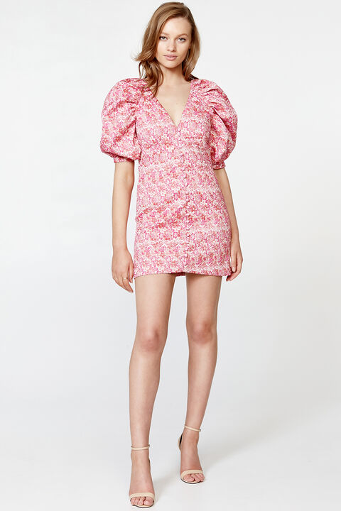 MARNIE MINI DRESS in colour SACHET PINK