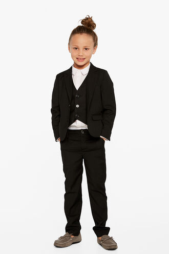OSCAR SUIT PANT in colour JET BLACK