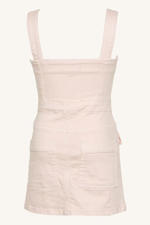 TINA DENIM ZIP DRESS in colour SHRINKING VIOLET